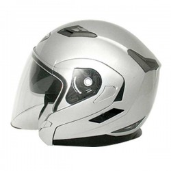 Zoan Long Jet Silver Helmet