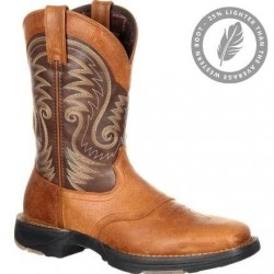 "Durango Men's DDB0110 Ultra-Lite 11"" Brown/Chocolate Saddle Western boot"