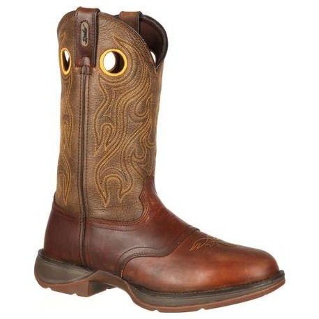 Men's Cowboy Boots/Durango Rebel 12Inch Saddle Sunset VelocityTrail