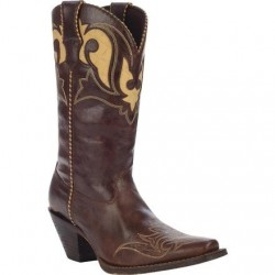 "Crush by Durango Women's RD5523 11"" Peek-A-Boot Western Boot"