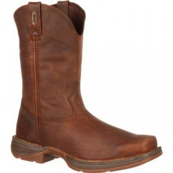"""Rebel by Durango Men's DB5444 11"""" Trail Brown Pull-on Western boot with DSS"""