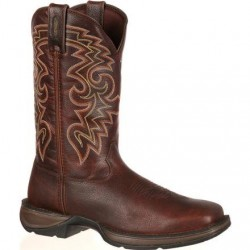 """Rebel by Durango Men's DB5434 11"""" Dark Chocolate Pull-on Western boot with DSS"""