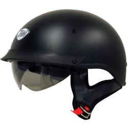 THH T-72 Motorcycle Helmet Flat Black