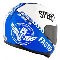 S & S 700 Top Dead Centre Blue Helmet