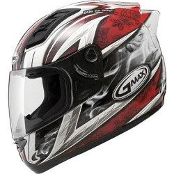 GM 69 Crusider ii helmet red/white