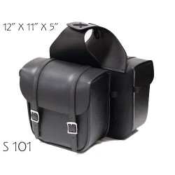 S101 Classic Small Saddle Bag plain