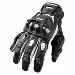 Joe Rocket's BLASTER SR Leather Gloves Black / white