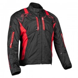 TRANS CANADA Textile Jacket BLK/RED MD