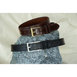 LEATHER BELT - H-106/Brown, H110/Black