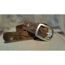 LADIES BELT-9121-26 BROWN