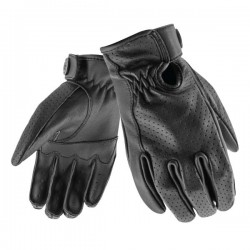 Rocket 67 Deer Skin Perforated Leather Gloves