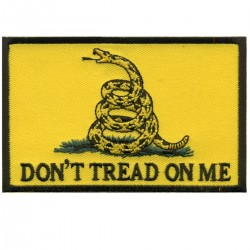 Don't Tread on Me Hook Back Patch