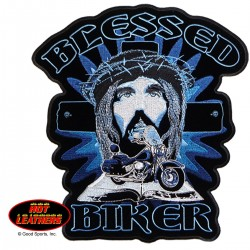 BLESSED BIKER PATCH