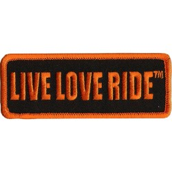 Live Love Ride Patch