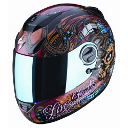 SCORPION EXO-750 LIVE FAST Full Face Helmet