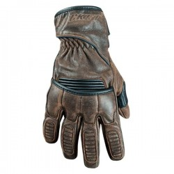 Vintage brown LEATHER GLOVES