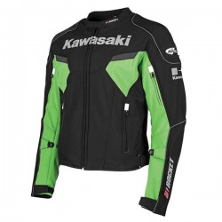 JOE ROCKET KAWASAKI SUPERSPORT TEXTILE JACKET - Black/Green