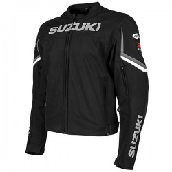 JOE ROCKET SUZUKI SUPERSPORT TEXTILE JACKET - Black
