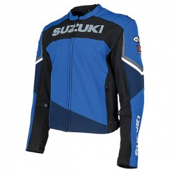JOE ROCKET SUZUKI SUPERSPORT TEXTILE JACKET - Blue