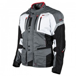 JOE ROCKET BALLISTIC 14.0 TEXTILE JACKET - Grey/White