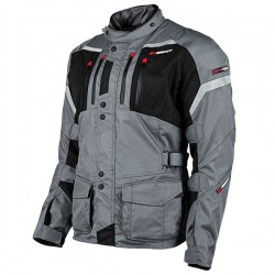 JOE ROCKET BALLISTIC 14.0 TEXTILE JACKET - Grey/Black