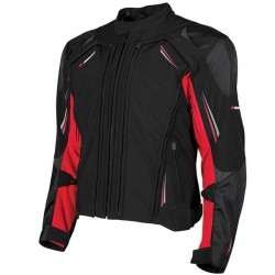 JOE ROCKET TRANS CANADA 2.0 TEXTILE JACKET - Black/Red