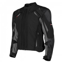 JOE ROCKET TRANS CANADA 2.0 TEXTILE JACKET - Black/Grey