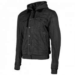 JOE ROCKET STEEL CITY TEXTILE JACKET - Black