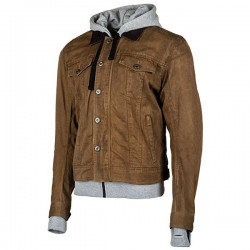 JOE ROCKET STEEL CITY TEXTILE JACKET - Brown