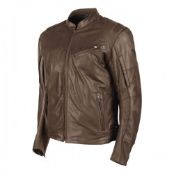JOE ROCKET JRC POWER GLIDE LEATHER JACKET - BROWN