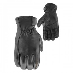 JOE ROCKET JRC 67 Deer Skin LEATHER GLOVES - Black