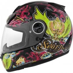Scorpion EXO-750 Kingdom black/green Helmet