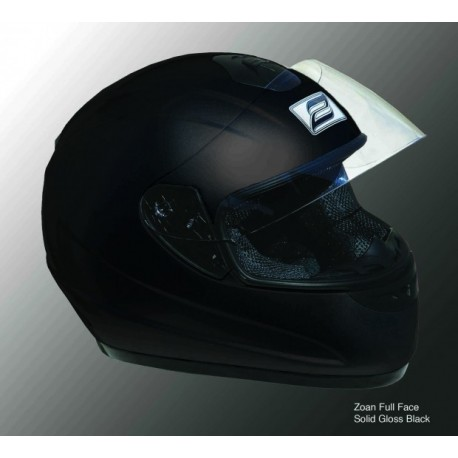 Zoan Lightening black helmet