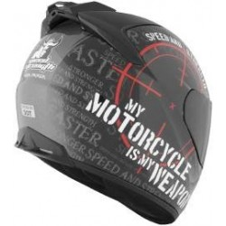 SS1000 Motorcycle is my wepon helmet