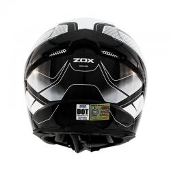 Zox ODYSSEY CARBON VIGILANCE White / Black Helmet