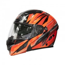 Zox BRIGADE SVS VOYAGER Modular Helmet RED