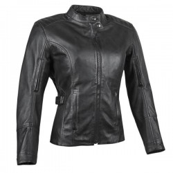 Joe Rocket Womens GLORIOUS & FREE Leather Jacket Black