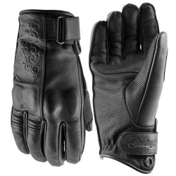 BLACK HEART™ LADIES LEATHER GLOVES BLACK by Speed & Strength
