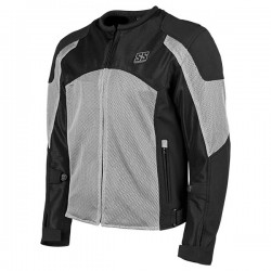 Speed & Strength's - MIDNIGHT EXPRSS MESH jacket Silver