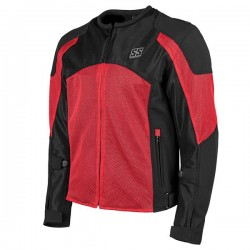 Speed & Strength's - MIDNIGHT EXPRSS MESH Jacket RED