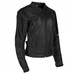 SINFULLY SWEET MESH JACKET Black by Speed & Strength