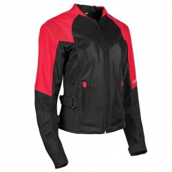 SINFULLY SWEET MESH Jacket Red By Speed & Strength