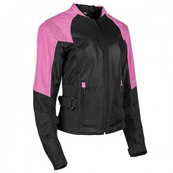 SINFULLY SWEET Ladies MESH Jacket Pink by Speed & Strength