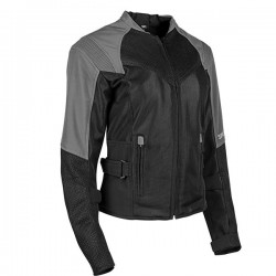 SINFULLY SWEET MESH JACKET SILVER by Speed & Strength