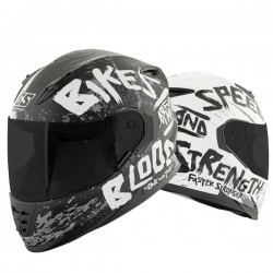 BIKES ARE IN MY BLOOD® SS1310 HELMET Matte Charcoal