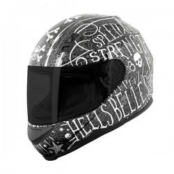 HELL'S BELLES™ SS700 Helmet Black by Speed & Strength