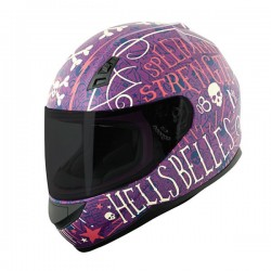 HELL'S BELLES™ SS700 Helmet PURPLE by Speed & Strength
