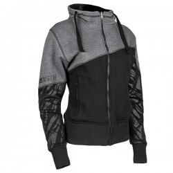 Cat Out'a Hell Armored Hoody Grey