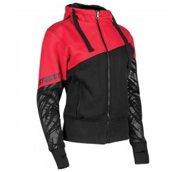 Cat Out'a Hell Armored Hoody Red