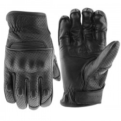 STRAIGHT SAVAGE™ LEATHER GLOVES Black by Speed & Strength